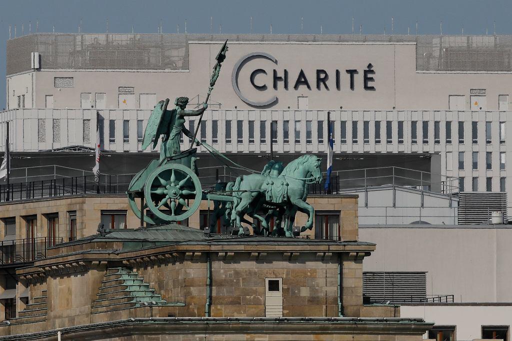 Klinika Charite w Berlinie w której przebywa Aleksiej Nawalny.