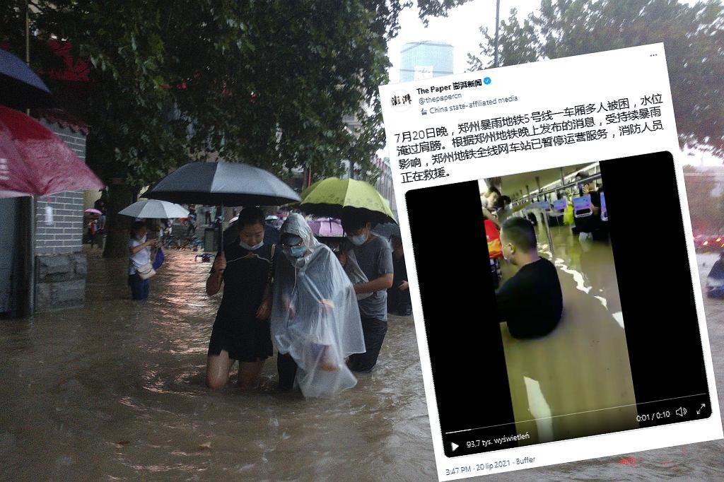 Powódź w Chinach