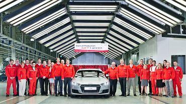 Audi TT - produkcja