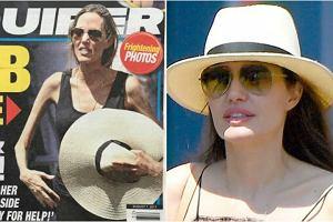 Angelina Jolie na okładce 'National Enquirer'