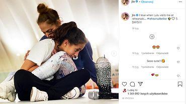 J Lo z córką
