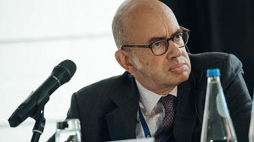 Ambasador Francji w Polsce Pierre Levy podczas VIII Europejskiego Forum Nowych Idei. Gdańsk, 26 września 2018