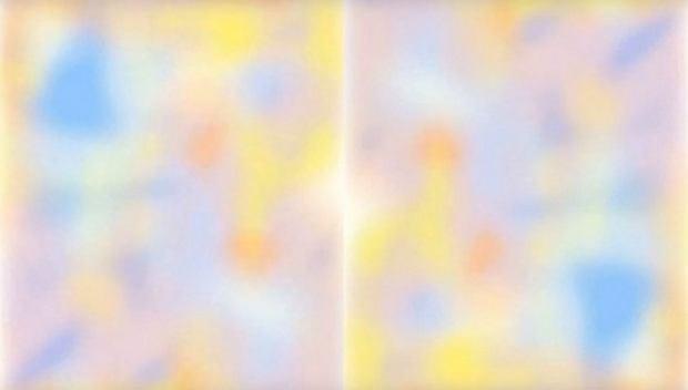 Iluzja optyczna sprawia, że kolory na obrazie znikają