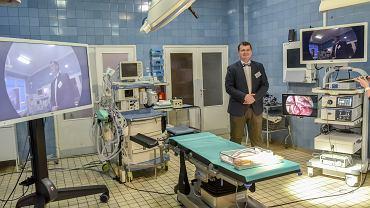 Sala operacyjna na torakochirurgii