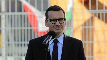 Murzasichle - wizyta premiera Mateusza Morawieckiego