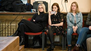 Debata o proteście nauczycieli podczas próbnych matur w Liceum św. Marii Magdaleny w Poznaniu