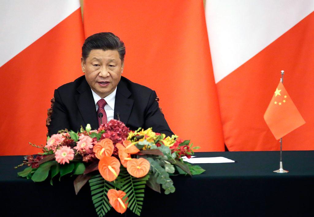 Prezydent Chińskiej Republiki Ludowej Xi Jinping
