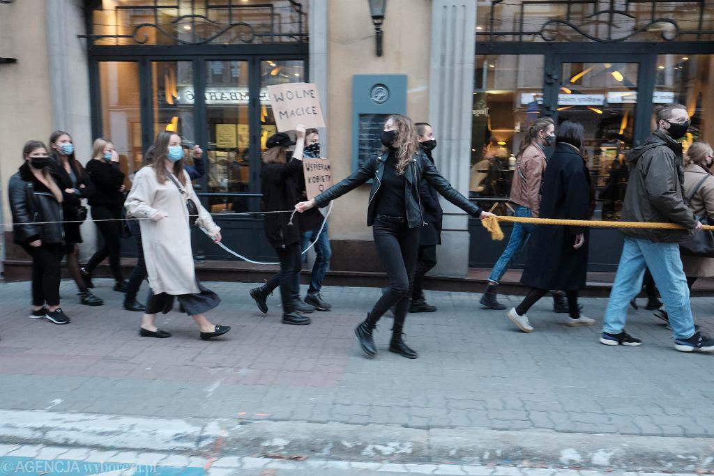 Poznań przeciwko zakazowi aborcji