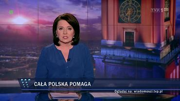 'Wiadomości' TVP o Rytlu i walce ze skutkami burz