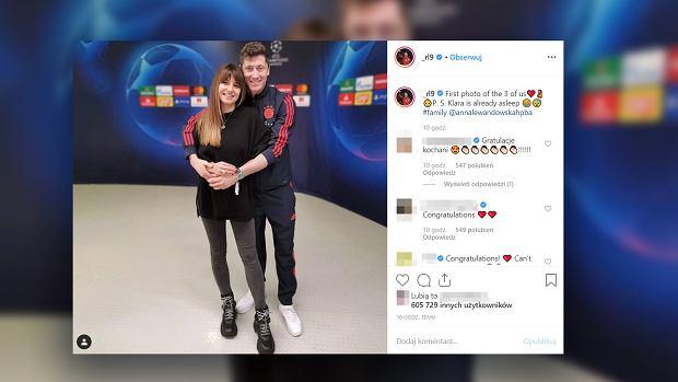 Anna Lewandowska jest w ciąży. Dziecko będzie miało imię tzw. złotego środka?