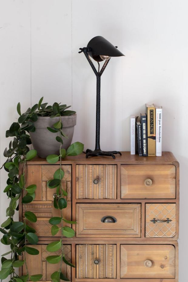 Wyjątkowa lampa w stylu boho loft