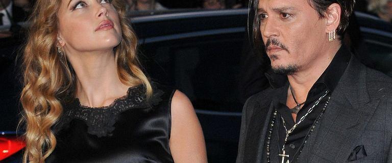 Johnny Depp oskarża Amber Heard o zabranie mu lekarstw