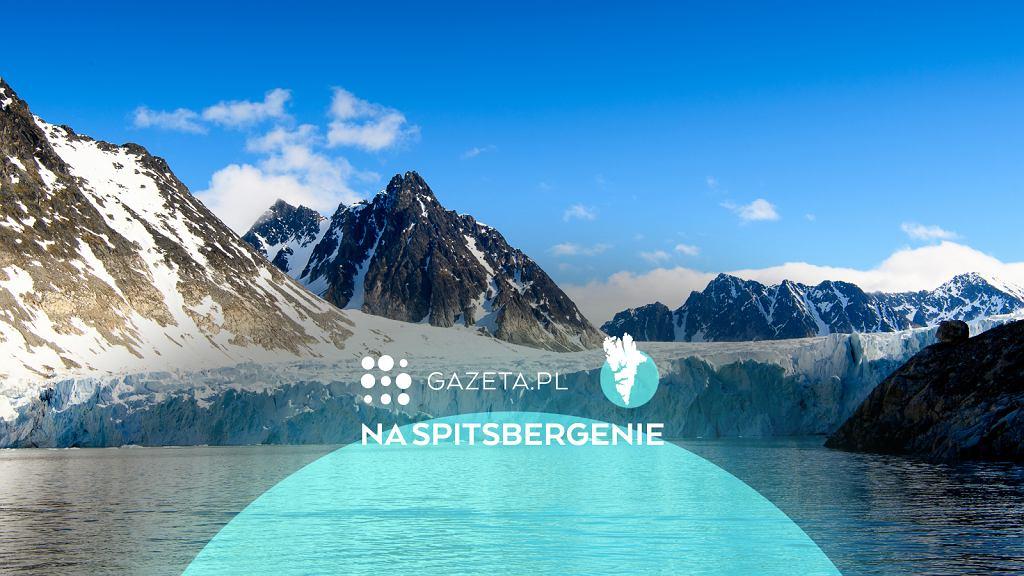 Lodowiec na Spitsbergenie