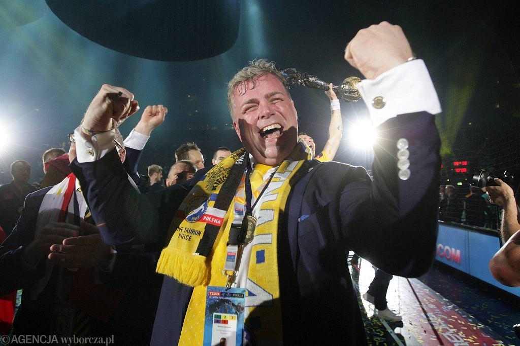 Niemcy, Kolonia. Vive Tauron Kielce zwycięzcą Ligi Mistrzów. Bertus Servaas