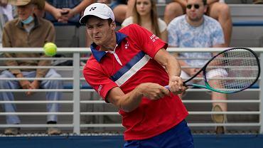 Hubert Hurkacz w II rundzie US Open. Gdzie i o której oglądać jego mecz? [TRANSMISJA TV, STREAM]