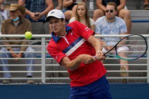 To koniec US Open dla Huberta Hurkacza! Nieprawdopodobny thriller