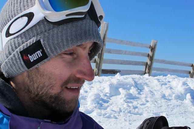 Michał Ligocki na zgrupowaniu w Nowej Zelandii