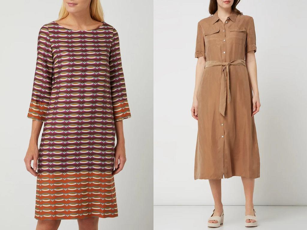 sukienki z wiskozy na jesień