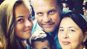 Andrada Surdeanu z rodziną