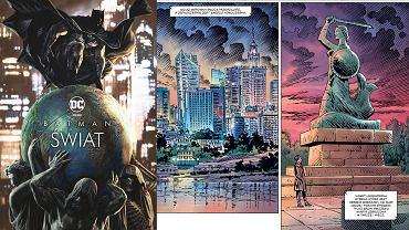 Batman: Świat - okładka i fragment