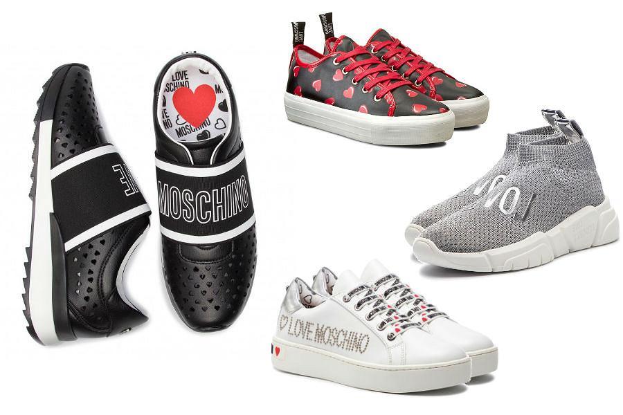 Kolaż / Sneakersy Moschino