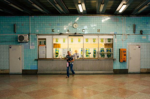 Na Zachodzie tak nie jest. Tu w kijowskim metrze.