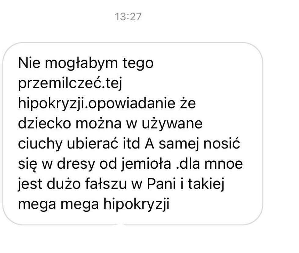 Zofia Zborowska ubiera córkę w używane ubrania? Fanka: Nie mogłam przemilczeć tej hipokryzji