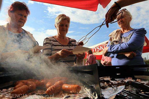 Sosnowiec 2014. Wiekie grillowanie na Górce Środulskiej