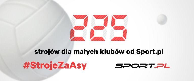 Sport.pl podbija stawkę w akcji #StrojeZaAsy! Ponad 200 strojów dla młodych siatkarzy