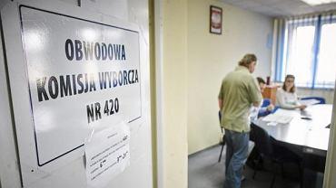 Łódź - wybory 2015. Komisja wyborcza