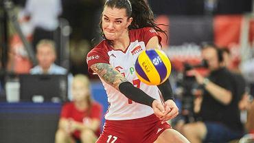Mistrzostwa Europy siatkarek. Polska - Ukraina. Malwina Smarzek-Godek