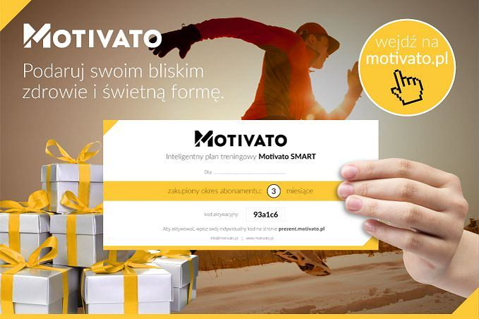Motivato.pl - najlepszy prezent dla biegacza