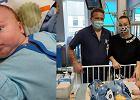 Lekarze usunęli noworodkowi guza, który był wielkości serca dziecka. Marcel wrócił na święta do domu