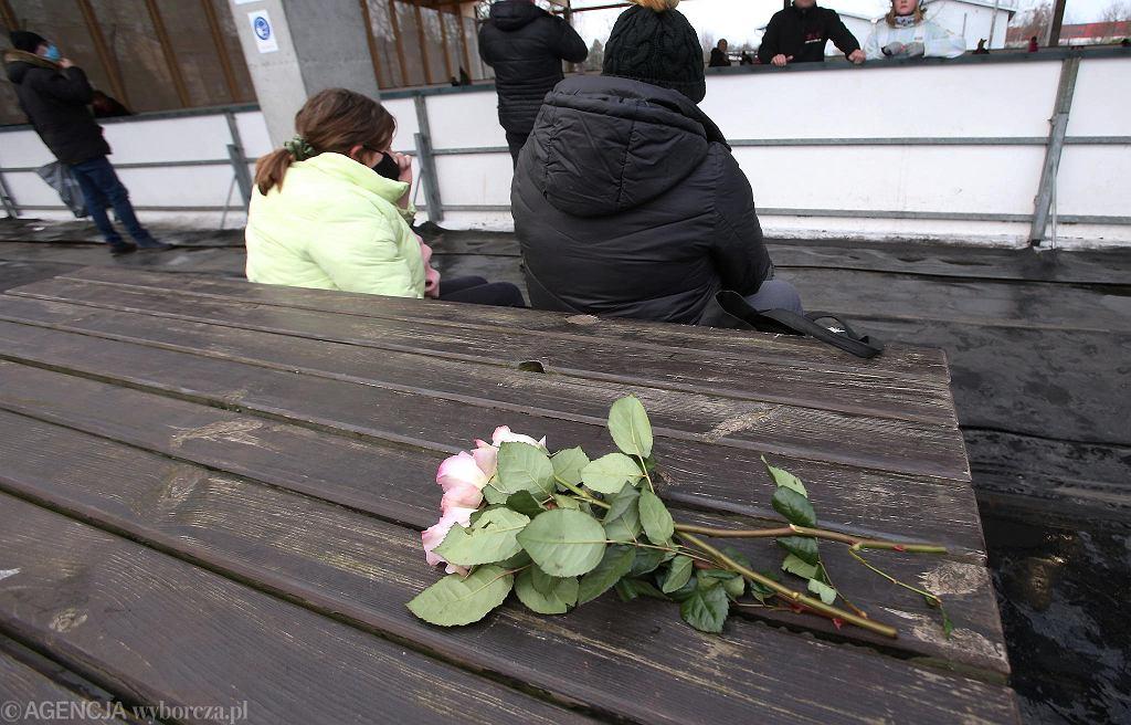 'Kwiaciarnia lodogryf' na osiedlu Majowym w Szczecinie