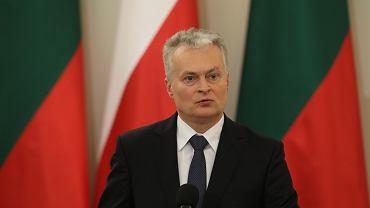 Prezydent Republiki Litewskiej Gitanas Nauseda