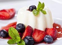 Panna cotta z truskawkami - ugotuj