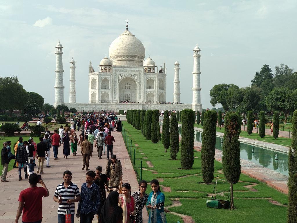 Tadź Mahal - fotografia wykonana smartfonem Xiaomi Mi A1