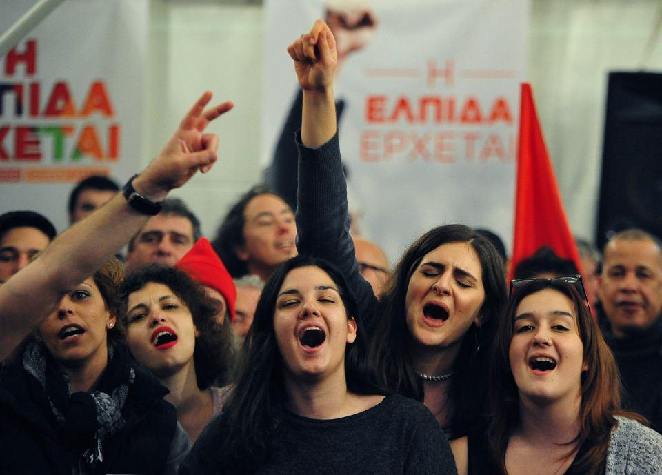 Niedzielne wybory w Grecji - wygrała populistyczna Syriza