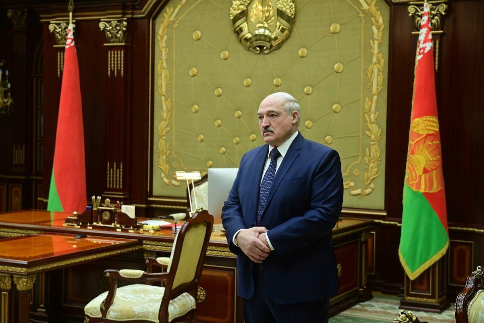 Aleksander Łukaszenka, 26 stycznia 2021 r.