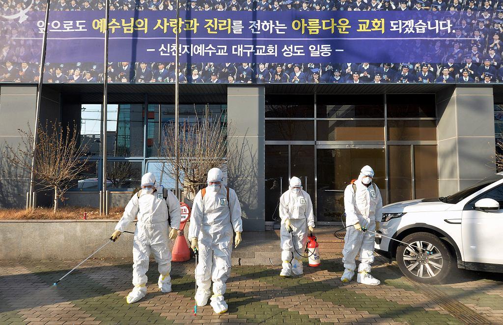 Koronawirus. Korea Południowa. Zdjęcie ilustracyjne.
