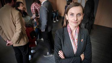 Sylwia Spurek z partii Wiosna Roberta Biedronia