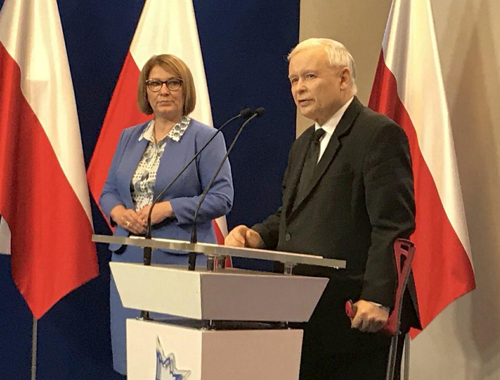 Jarosław Kaczyński. 6 lipca 2018 roku