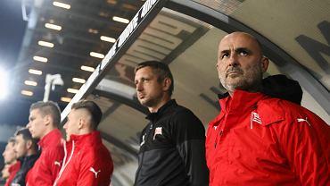 Grzegorz Kurdziel i Michał Probierz, trenerzy Cracovii