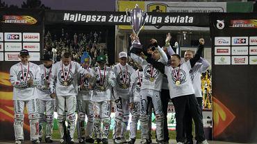 Stelmet Falubaz Zielona Góra, mistrz Polski.