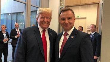 Donald Trump i Andrzej Duda, lipiec 2017 r.