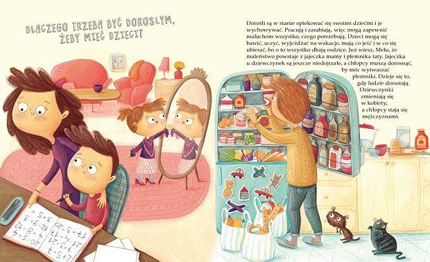 W książce znajdziemy odpowiedzi na pytania, które zadają dzieci. Informacje są rzetelne, podany w zrozumiały dla kilkulatka sposób.