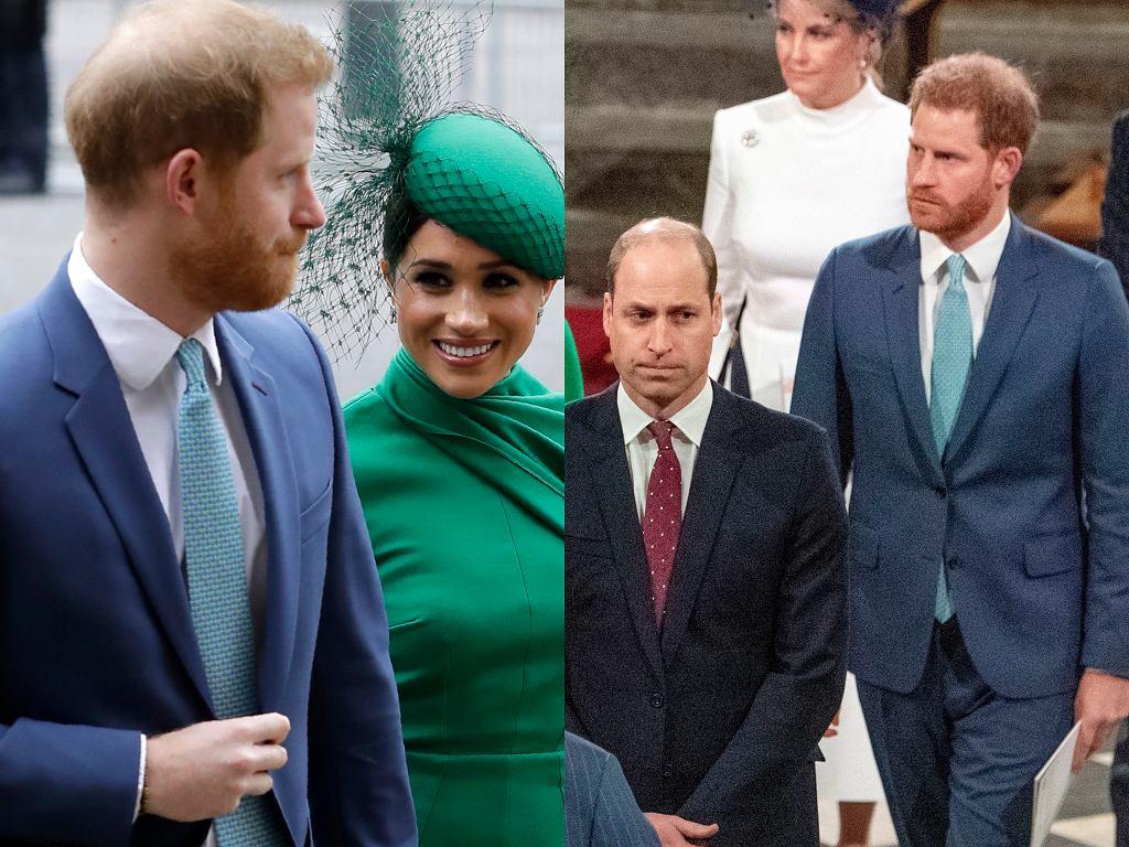 Książę Harry, Meghan Markle, Książę William