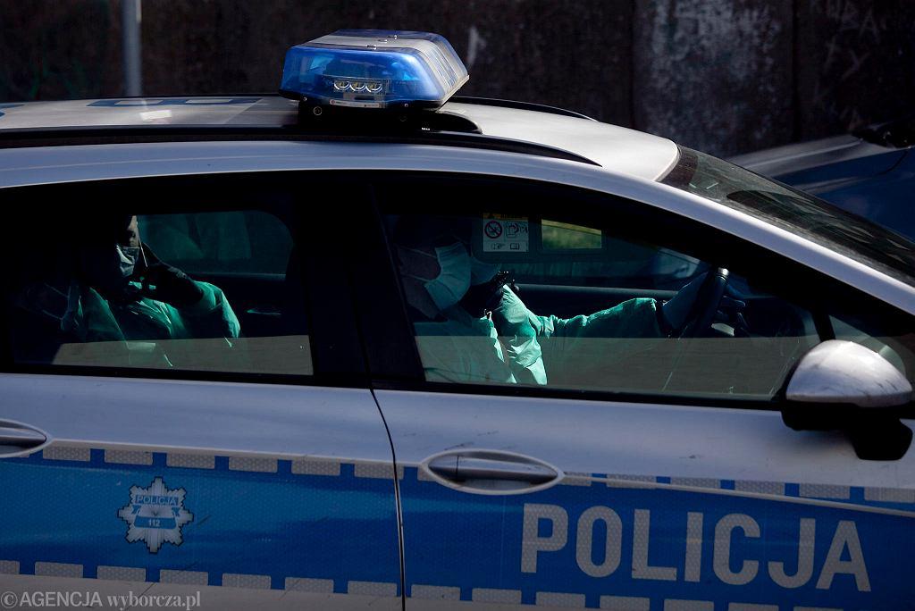 Policja-zdjęcie ilustracyjne