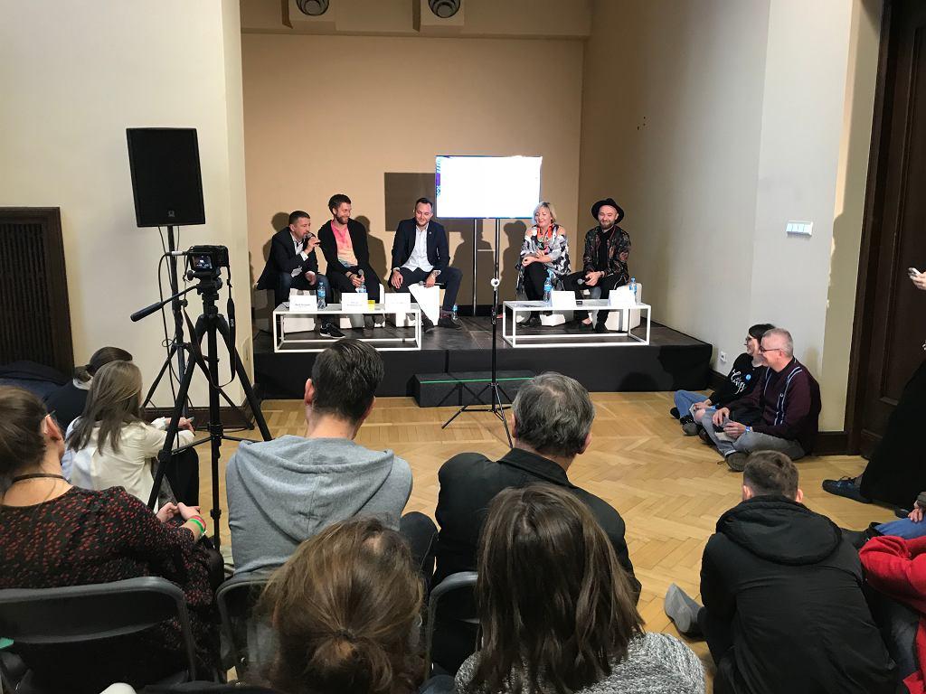 Panel o jazzie. Europejskie Targi Muzyczne CJG24 / Albert Zawada