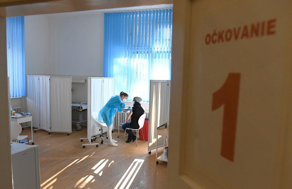 Słowackie szczepienie przeciwko COVID-19